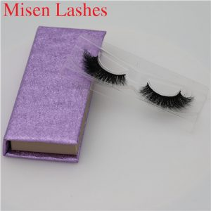 Mink Eyelashes custom box