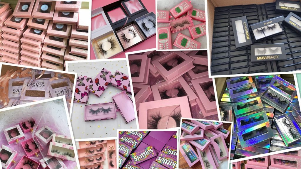How to create my own eyelash packaging vendors