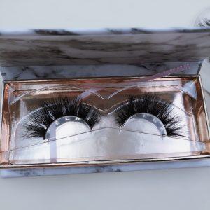 Mink Lash Vendor Wholesale Lash Vendor 3D Mink Eyelash Vendors 25mm Strip Lashes