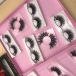 makeup artist fake eyelashes