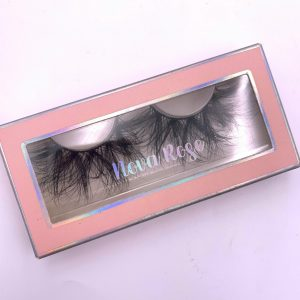 Eyelash cardboard box