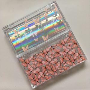 butterfly custom lash packaging case