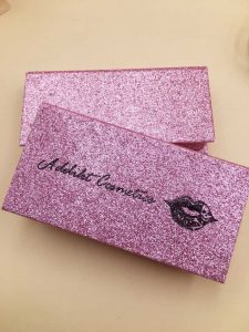 ef38df9b82a High quality luxury Private Label Custom purple eyelash box packaging for  mink lashes,Custom Cosmetic eyelash packaging Magnetic closure eyelash box  ...