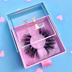 Unique eyelash Packaging custom your own lash box wholesale vendors
