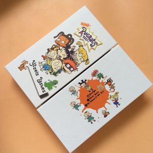 Cute lash box custom cartoon eyelash packaging vendors