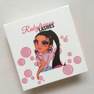 Cartoon lash boxes wholesale custom eyelash packaging vendors