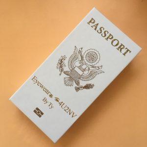 Passport lash boxes wholesale custom eyelash packaging vendors