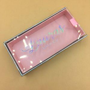 pink eyelash packaging wholesale