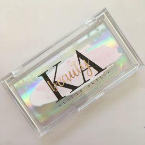 Acrylic eyelash packaging box