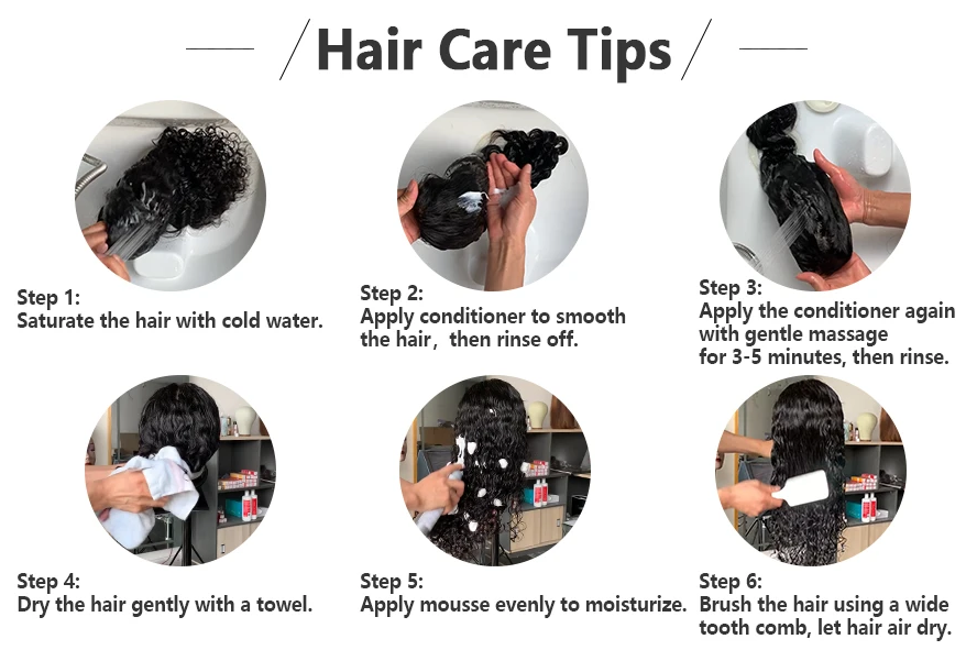 how to take care of hair daily?