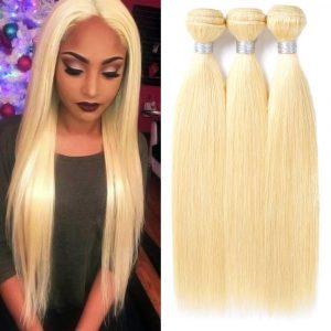 613 stright hair wave