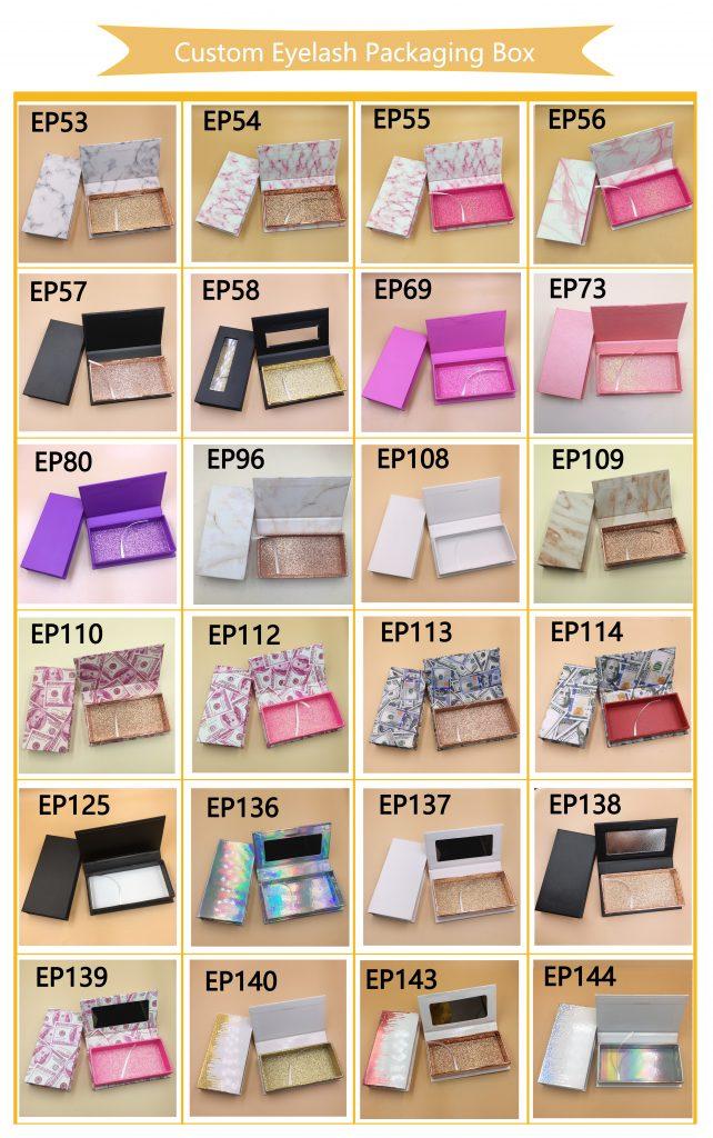 Custom Eyelash PackagingVendors