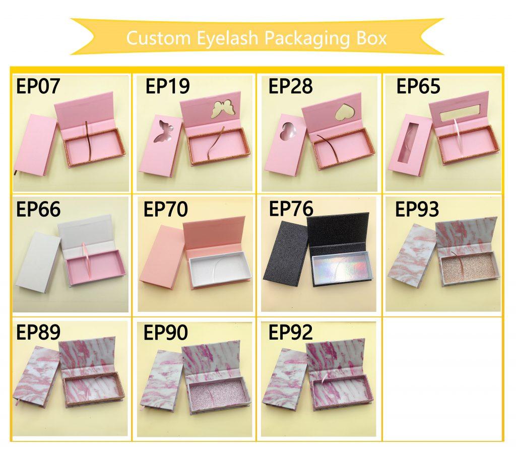 Custom eyelash Packaging box to create your own lash brand