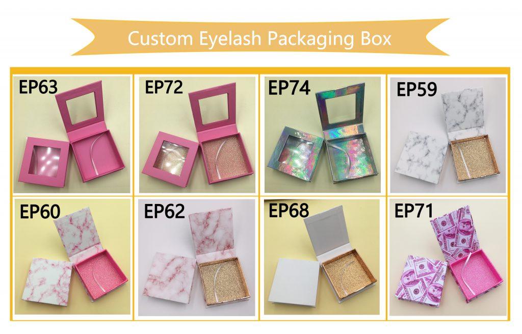 custom eyelash packaging create my own lash box