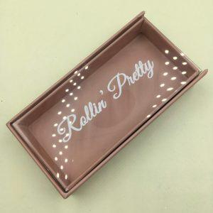 Brown eyelash Packaging box Wholesale Custom