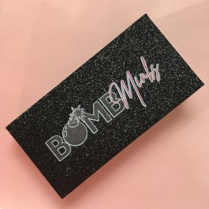 Black eyelash packaging creative lash packaging boxes