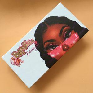 cartoon eyelash packaging custom my own lash box vendors