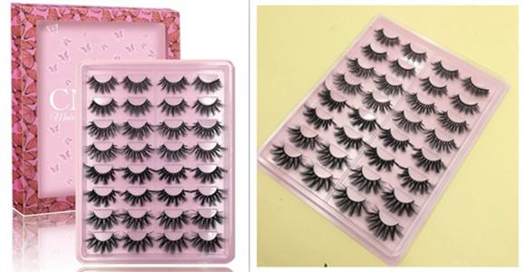 Faux Mink Lashes Wholesale 3D eyelash Vendors