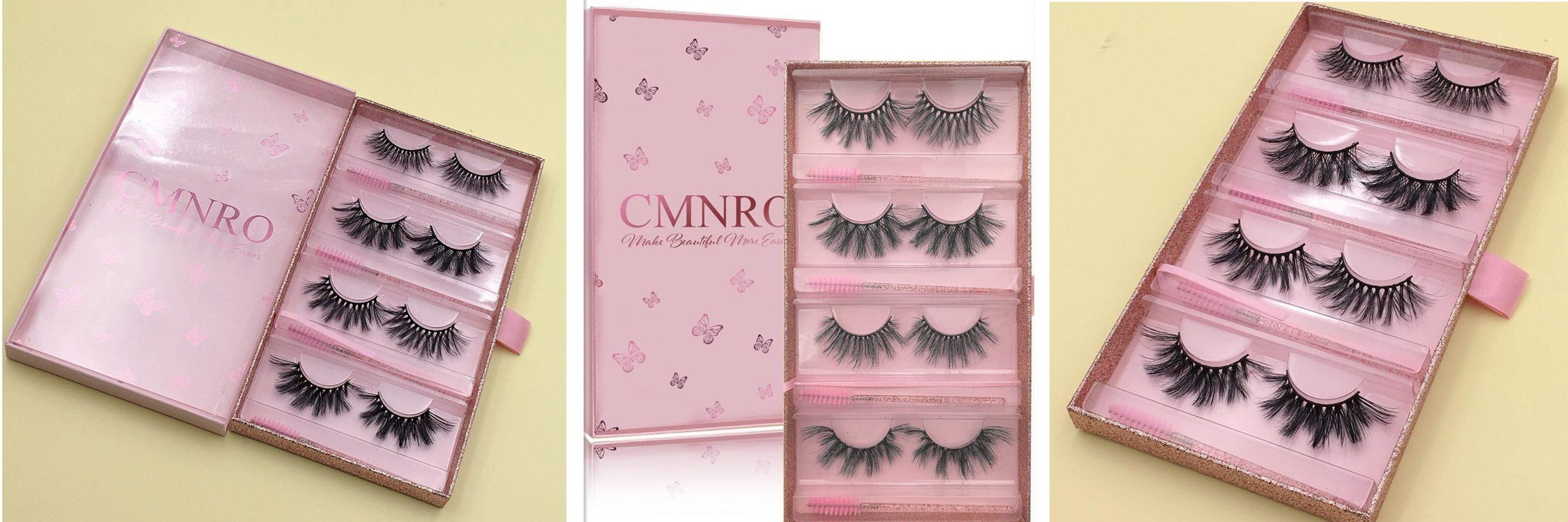Faux Mink Lashes Wholesale 3D eyelashes Vendor