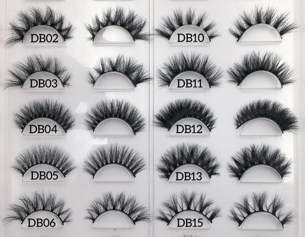 eyelash vendors wholesale 3d mink lashes