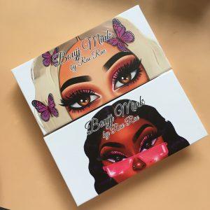 Cartoon Eyelash Packaging Custom Lash Boxes Wholesale Vendors