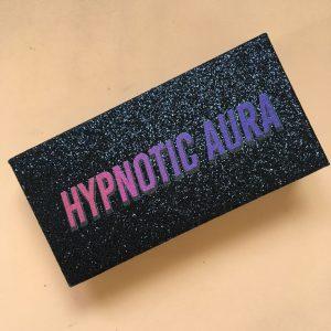 Black glitter eyelash packaging create your own lash box