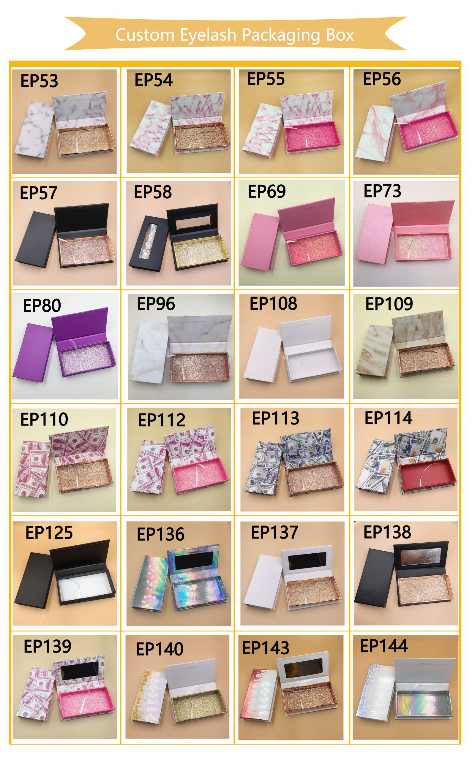 Eyelash Packaging Vendors